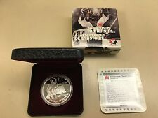 1997 Canadian Proof Silver Dollar - 25 years of 1972 Summit Series