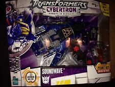 Transformers CYBERTRON Soundwave Hasbro 2006 SEALED New Laserbeak G1 Deco