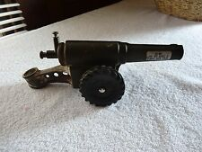Vintage  Big Bang Cast Iron Toy Cannon
