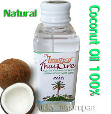 Thai Pure Natural Virgin Coconut Oil 100% For Health Skin Hair Massage 60ml