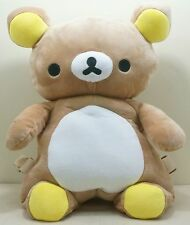 San-X Rilakkuma Bear Kids Boys Girls Plush Shoulder Bag Backpack