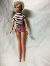 Vtg 1975 Ideal TUESDAY TAYLOR DOLL Blonde to Brunette Hair HONG KONG 11 & 1/2""