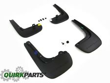 2017 CHRYSLER PACIFICA DELUXE FRONT & REAR SPLASH GUARDS MUD FLAPS SET OEM MOPAR