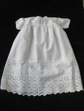 VINTAGE BABY'S DRESS IN COTTON BRODERIE ANGLAISE, very wearable
