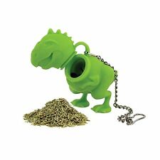 Barbuzzo by Urban Trend T-Rex Silicone Tea Infuser / Steeper - Green