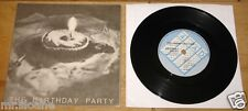"THE BIRTHDAY PARTY ~ THE FRIEND CATCHER ~ NICK CAVE OZ GOTH PUNK 4AD UK 7"" 1980"