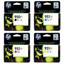 Pack 4 Originales HP950XL 950XL HP951XL 951XL Cartouches d'Encre HP Inks 07/2018