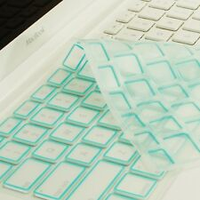 New Arrival! LIGHT BLUE Silicone Keyboard Cover for  Macbook White A1342