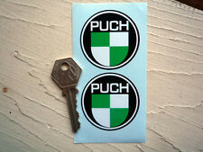 PUCH 50mm Pair Classic Motorcycle Moped Scooter STICKERS Maxi Montana Bicycles