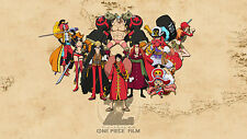 POSTER ONE PIECE FILM Z THE MOVIE LOCANDINA WANTED ACE RUFY THE NEW WORLD #26