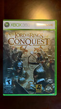 The Lord of the Rings: Conquest (Microsoft Xbox 360, 2009) No Manual