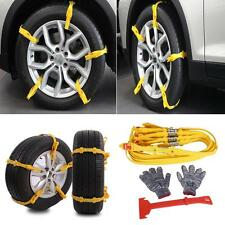 10x Car Snow Tire Anti-skid Chains Thickened Beef Tendon Auto Truck Wheel Chains