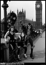 "KISS in London 1976 *NEW* A1 Size 84.1cm x 59.4cm - approx 33"" x 24"" Poster"