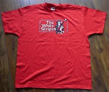 Vintage THE WHITE STRIPES Monkey T-Shirt XL Rare! Jack White