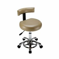 Med-Resource 925 Hands-Free Medical Stool w/ Backrest