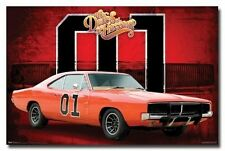 THE DUKES OF HAZZARD POSTER General Lee - Car 01 NEW - PRINT IMAGE PHOTO