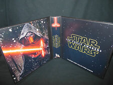 Custom Made Star Wars The Force Awakens 1 1/2 Inch Trading Card Binder