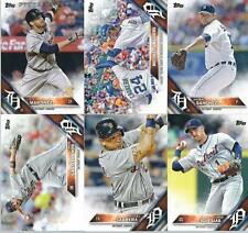 2016 Topps Series 1 & 2 & Update DETROIT TIGERS Complete 28 Card Team Set