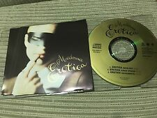 MADONNA - EROTICA FOR  CD SINGLE - 3 TRACK  MAVERICK 92 SLIM CASE