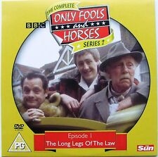 DVD The Sun Promo ONLY FOOLS and HORSES, Ser2 Episode 1 THE LONG LEGS OF THE LAW