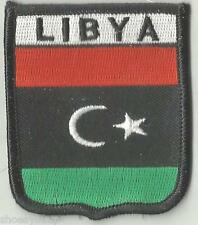 LIBYA LIBYAN KINGDOM CREST FLAG WORLD EMBROIDERED PATCH BADGE