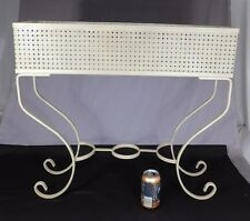 Vintage 1930s Painted Wrought Iron Planter/Flower Box Plant Stand Mid Century