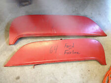 1964 Ford Galaxie fender skirts