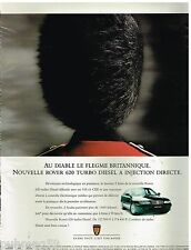 Publicité Advertising 1995 Nouvelle Rover 620 Turbo Diesel à injection directe