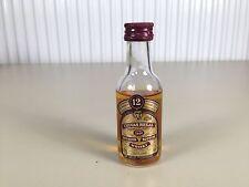 Mignonnette mini bottle non ouverte whisky chivas 12 ans d'age