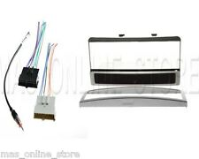 CAR STEREO DASH INSTALL KIT WITH WIRE HARNESS & ANTENNA FOR FORD & MERCURY