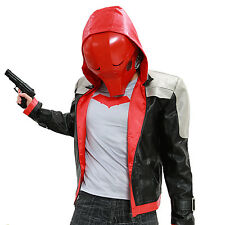 XCOSER New Arrival Red Hood Mask Full Face Helmet PVC Mask for Cosplay Props