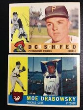 Signed Autographed 1960 Topps Card Dick Schofield with COA