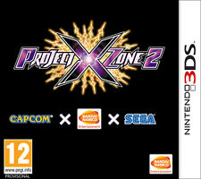 Project X Zone 2 Nintendo 3DS IT IMPORT NAMCO