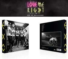 EXO [ LOVE ME RIGHT ] CHINESE VERSION- 2ND REPACKAGE ALBUM+ Random Photo Card