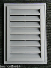 "Gable Vent Rectangular 12 x 18"" (360 x 510mm) Paintable"