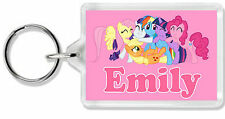 Personalised My Little Pony Keyring/ Bag Tag- Choose any name! *Great Gift!*