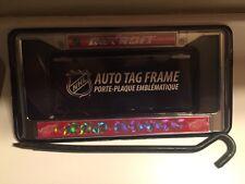 Detroit Red Wings Glitter Chrome license plate frame