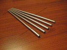 5 Tubetti tubi tondini in alluminio (lungh. 30 cm)