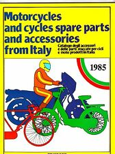 1985 Motorcycles Spare Parts and Accessories from ITALY Catalog EDISPORT Bikes