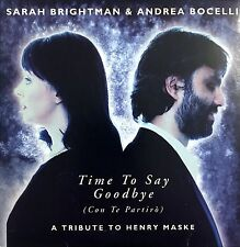 Sarah Brightman ‎CD Single Time To Say Goodbye - Germany (EX/EX)