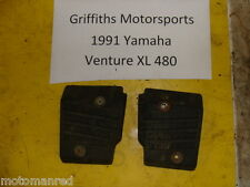 91 92 93 YAMAHA Venture XL VT480XL 88T OEM rear passenger foot blocks rests r l