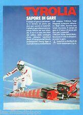 QUATTROR983-PUBBLICITA'/ADVERTISING-1983- TYROLIA - ATTACCHI DA SCI