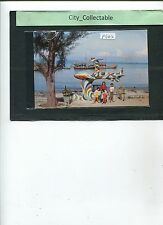 P642 # MALAYSIA USED PICTURE POST CARD * BEACH AT BATU MAUNG, PENANG