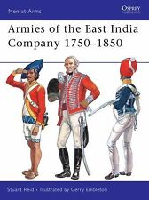 Indian Armies of the East India Company 1750-1850 Men At Arms 453 Reference Book