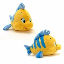 NEW OFFICIAL DISNEY THE LITTLE MERMAID 26CM FLOUNDER SOFT PLUSH TOY
