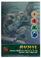 BATMAN AVENGER DC OVERPOWER HOLO HERO HOLOGRAPHIC CHARACTER - EXTREMELY RARE