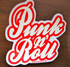Punk 'n' Roll Sticker Gearhead Records Hot Rods Rockabilly Psychobilly Greaser