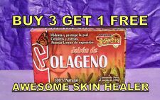 1 COLLAGEN SKIN CARE SOAP ANTI STRETCH MARKS CELLULITE WRINKLES FACE LINES RENEW