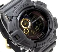 CASIO MUDMAN G-Shock G9300GB-1 G-9300GB-1 Black Gold Solar Free Ship
