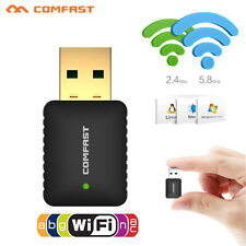 Comfast 600Mbps USB 2.4GHz/5GHz Dual Band Wireless WiFi Adapter 802.11AC Dongle